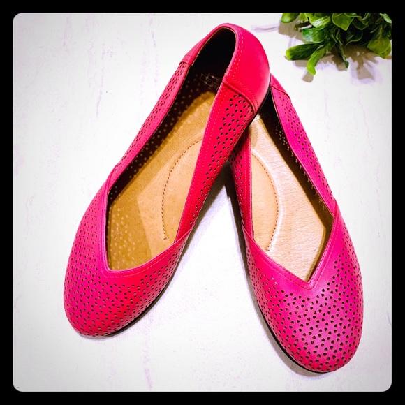 Dansko Shoes - Dansko Neely Pink Flats 41